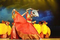 chinese dance ethnic nationality yi Στοκ φωτογραφία με δικαίωμα ελεύθερης χρήσης