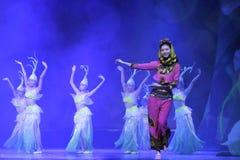 chinese dance folk Στοκ Φωτογραφία