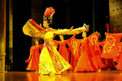 Chinese dancers Royalty Free Stock Photography