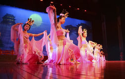 Chinese dancers Stock Photo