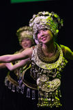 Chinese dancers. Zhuhai Han Sheng Art Troupe.  Stock Image