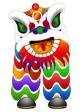 Chinese Dancing Lion Illustration Royalty Free Stock Photo