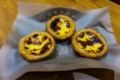 Chinese Danta Egg Tarts stock photo