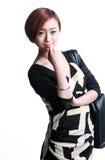 Chinese de schouderzak van meisjeskua Royalty-vrije Stock Foto's