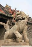 Chinese Decoratie voor Voorouderlijke Tempel van Chen Fami Royalty-vrije Stock Afbeeldingen