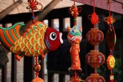 Chinese decorating handicraft Stock Photos