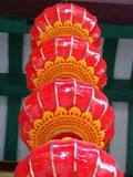 Chinese Decoration. On New Year Royalty Free Stock Photo