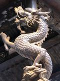 Chinese Decoration. Dragon as Chinese decoration on New Year Stock Images