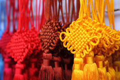 Chinese decoration knots Royalty Free Stock Photos