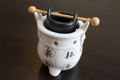 Chinese decoration pot Stock Images