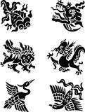 Chinese decorative animals Stock Photo