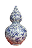 Chinese decorative gourd porcelain vase Royalty Free Stock Photo
