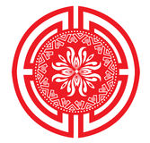 Chinese decorative icons Royalty Free Stock Image