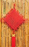 Chinese decorative knots Stock Photo