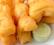 Chinese deep fried dough sticks Royalty Free Stock Images