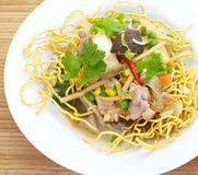 Chinese Deep Fried Noodle Stock Photo