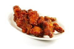 Chinese Deep Fried Pork Chunks Royalty Free Stock Photos