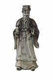 Chinese deities statue. Wat pho,Thailand Stock Photo