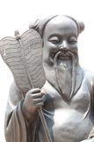 Chinese deity statues. Royalty Free Stock Image