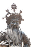Chinese deity statues. Royalty Free Stock Photo