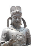 Chinese deity statues. Royalty Free Stock Images