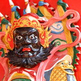 Chinese deity temple Stock Photography