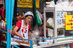 Chinese deli in chinatown, Bangkok Stock Photos