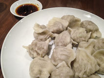 Chinese delicious dumplings. Royalty Free Stock Photo