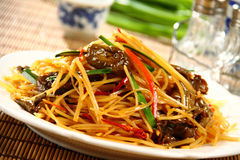 Chinese delicious food Royalty Free Stock Photos
