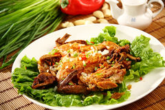 Chinese delicious food Stock Image