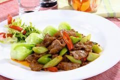 Chinese delicious food Stock Photos