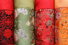 Chinese design cloths Royalty Free Stock Photography