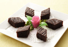 Chinese Dessert. China in the new year cakes and pastries Stock Photography