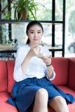 Chinese dessert in girls Royalty Free Stock Photos