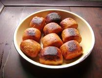 Chinese dessert golden bread mantou Royalty Free Stock Photo