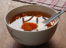 Chinese dessert sweet potato soup Royalty Free Stock Photos