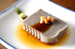 Chinese dessert, Tofu Stock Photo