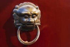 Chinese deur Royalty-vrije Stock Foto's