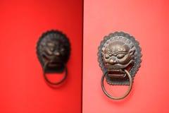 Chinese deur Royalty-vrije Stock Foto