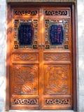 Chinese deur Stock Foto