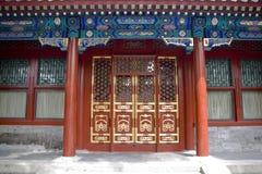 Chinese deur stock afbeelding