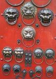 Chinese deurbel Royalty-vrije Stock Foto