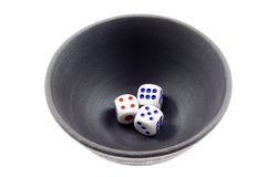 Chinese dice game Royalty Free Stock Image