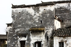 Chinese dilapidated buildings Royalty Free Stock Image