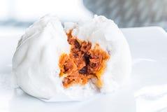 Chinese dim sum BBQ Pork Bun Stock Photo