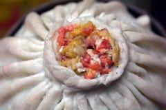 Chinese Dim sum dumplings food in Shanghai China Royalty Free Stock Photo