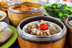 Chinese dim sum food Royalty Free Stock Images