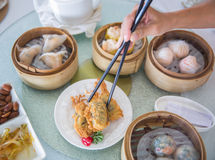 Chinese Dim sum Royalty Free Stock Photos