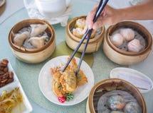 Chinese Dim sum Royalty Free Stock Photos