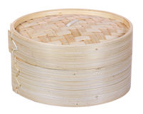 Chinese dimsum bamboo steamer Royalty Free Stock Photos